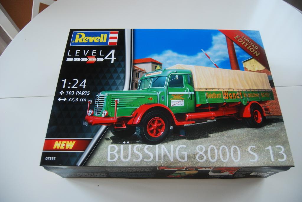 Camió Büssing 8000 S13 de Revell 2duf9zk
