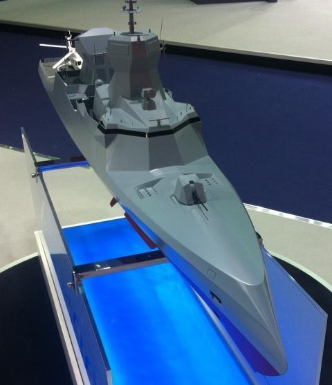 مشروع الكورفيت الشبحى C Sword 90 2gxh920