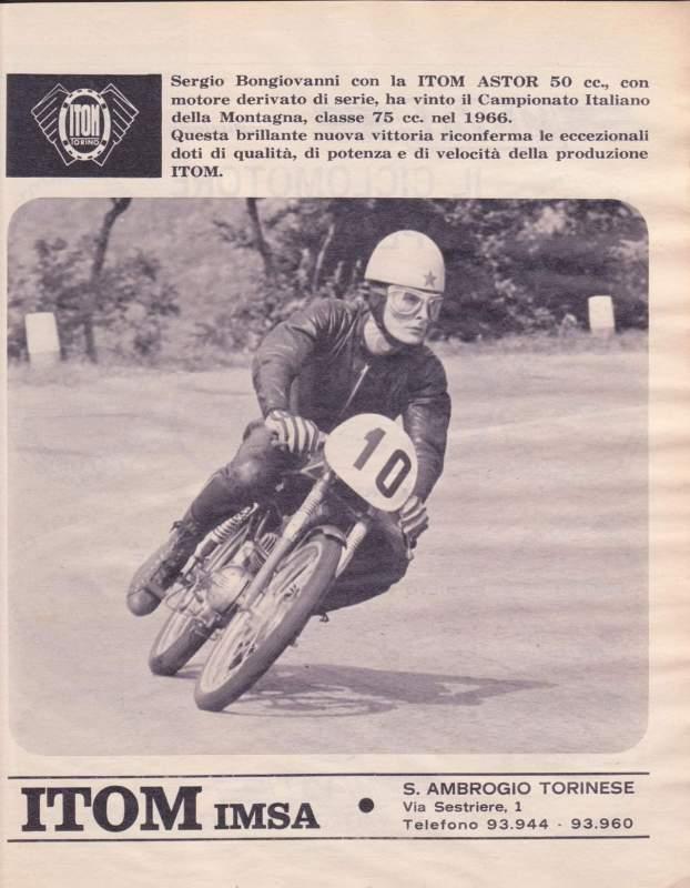 50cc - Itom 50cc de carreras 1967 2holjsn