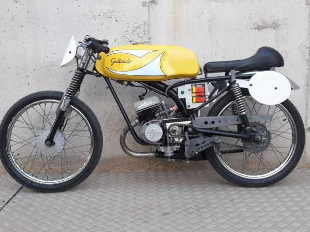 50cc - Itom 50cc de carreras 1967 2j61p37