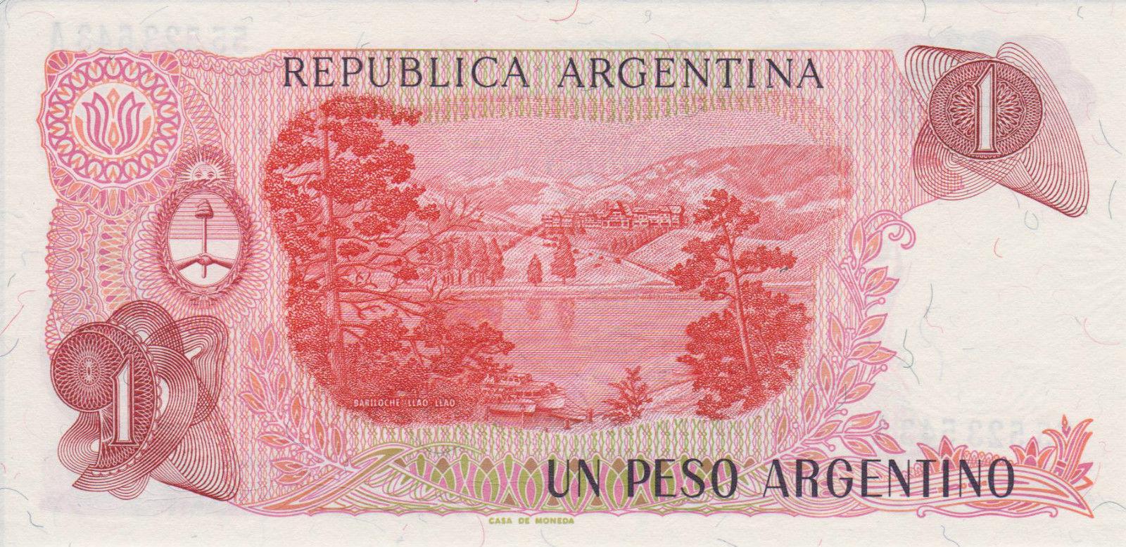 El Billete mas feo que se imprimió en Argentina. 2jan2tz