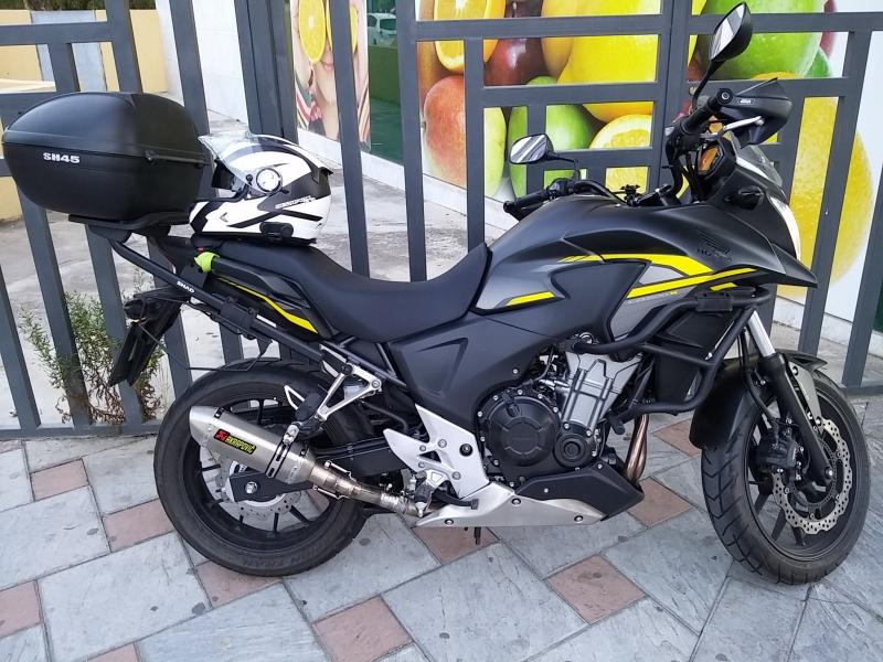 Mi HONDA CB500X con Akrapovic low cost !!!!!!!!!!!! 2lax7vq