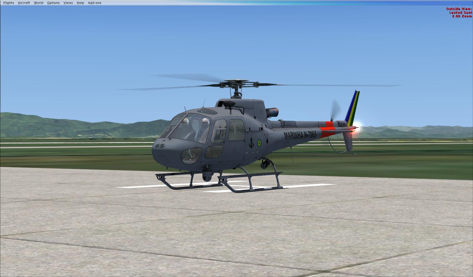 AS-350 Marinha do Brasil....nova pintura...aeronave da nemeth. 2lmtk7b