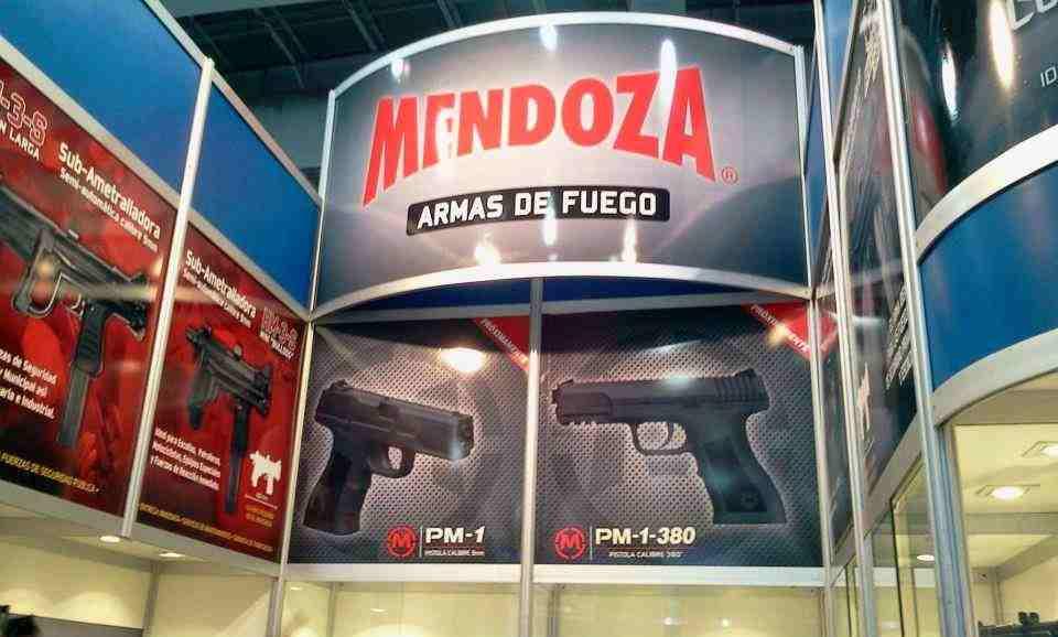 Pistolas Mendoza AZTK y MXIK 2mx1qa8