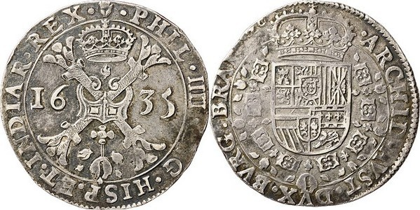Patagón de 1635 a nombre de Felipe IV (Amberes) 2ptou9l