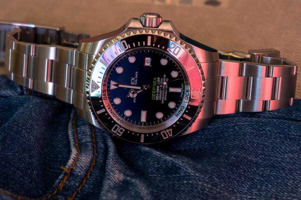 Présentation de la Rolex 116660 SDDS D-Blue James Cameron 2qa33g6