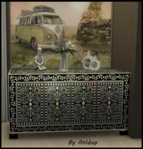 The Sims 4: Bone Inlay Dresser 2qm2h48