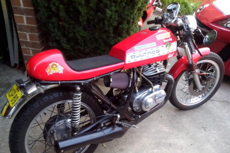 Bultaco build Australia + Records Mundiales Guinness de la velocidad 2qn7283