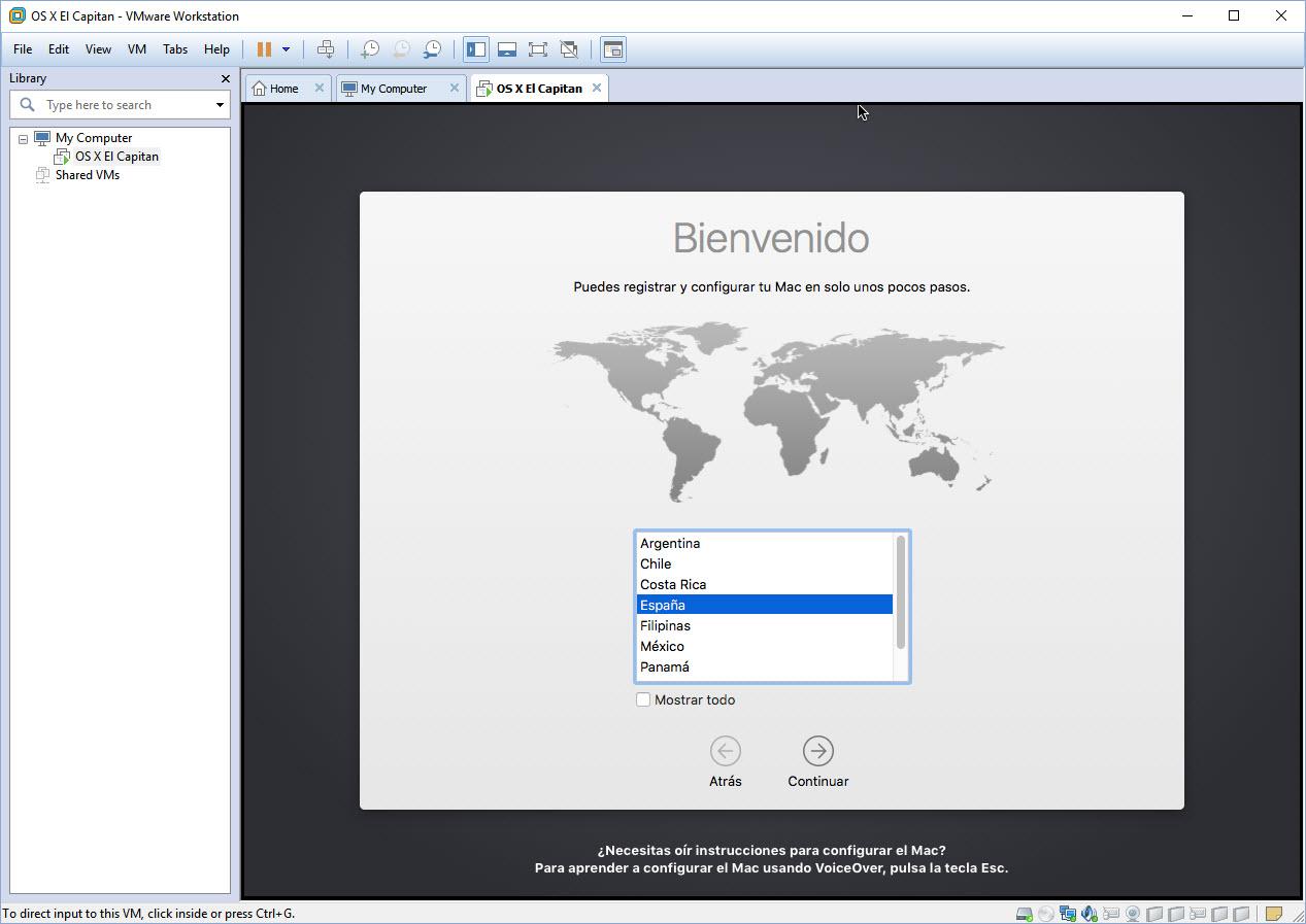 [TUTORIAL] VMWARE: INSTALANDO OS X EL CAPITÁN EN OS X Y WINDOWS... A LA BILBAÍNA 2rhldmo