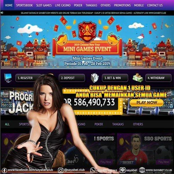Sayabet - Web Judi Online Terbaik dan Terpercaya 2rwum1t
