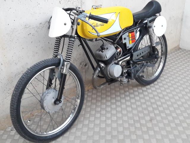 50cc - Itom 50cc de carreras 1967 2s68o3q