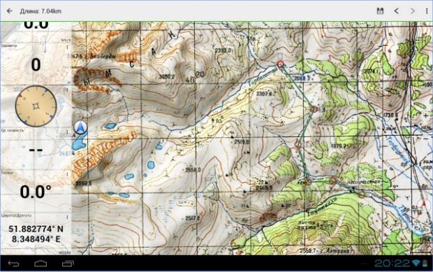 Топографски карти и приложения за Android 2uer9xg