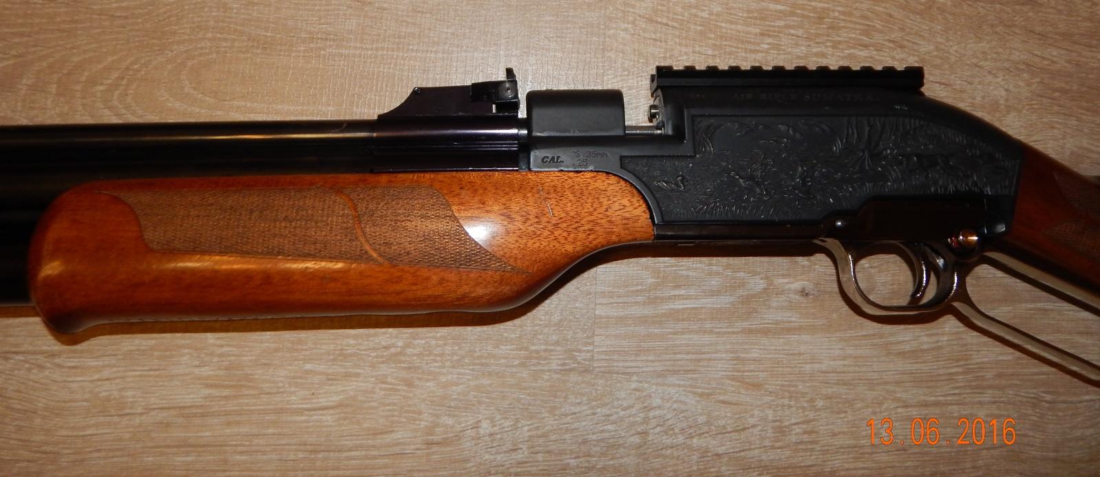 Продам Sumatra винтовка cal 6.35 объем 500 308h1fl