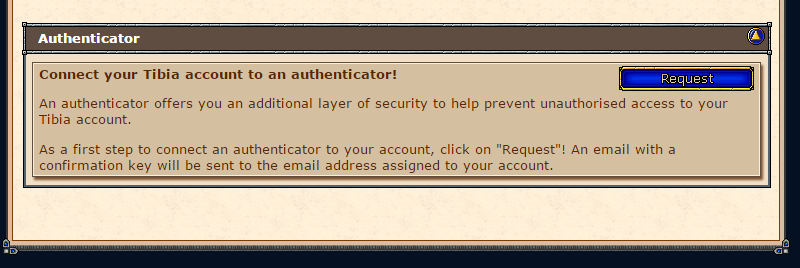TIBIA AUTHENTICATOR (NO ACTIVAR SIN RECOVERY KEY!) 33aqbye