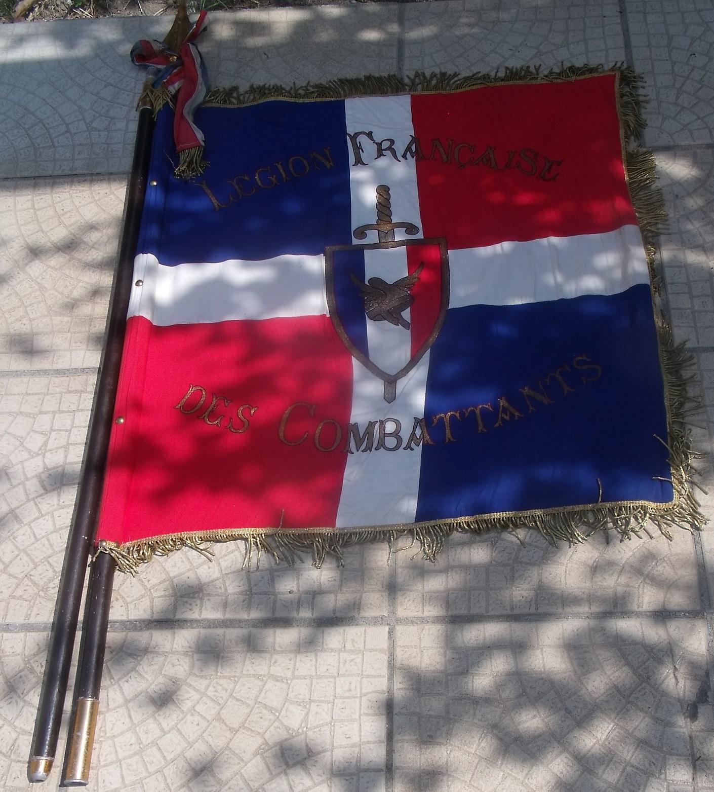 drapeau Legion Francaise des combattants - LFC 33cxge8