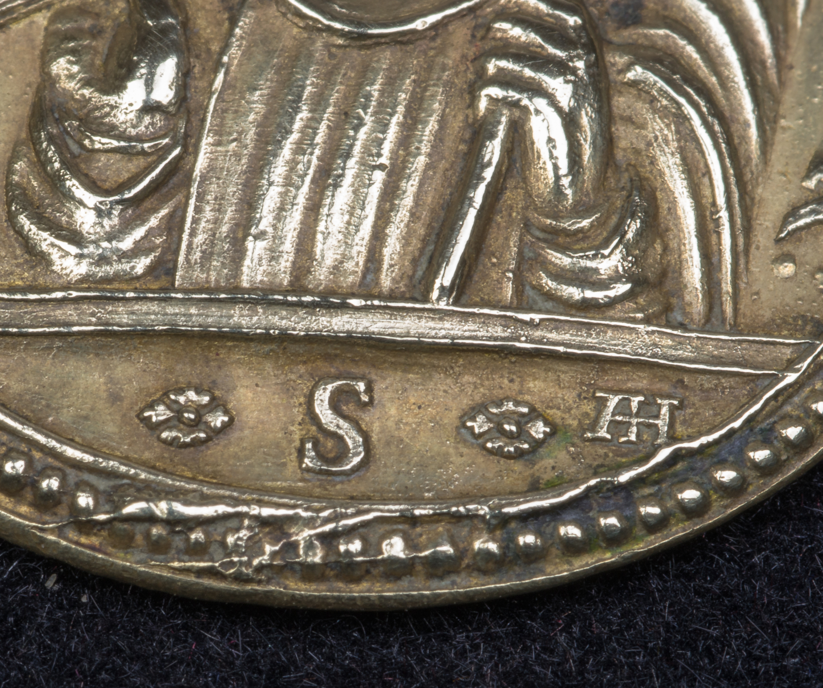 SS Crucifijo Vetero Boleslav / San Benito, S. XVIII, Hamerani (R.M. SXVIII-O309) 33df1wg