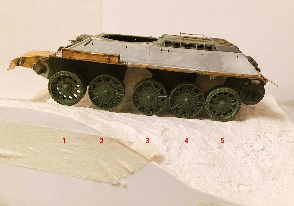 T-34-76 ICM 1/35 - Страница 3 33m2b14