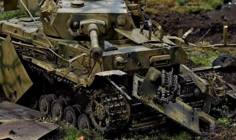 """Pz.Kpfw. IV Ausf. G, или… пламенный привет от """"зверобоя""""… 1/35 33o0buu"""