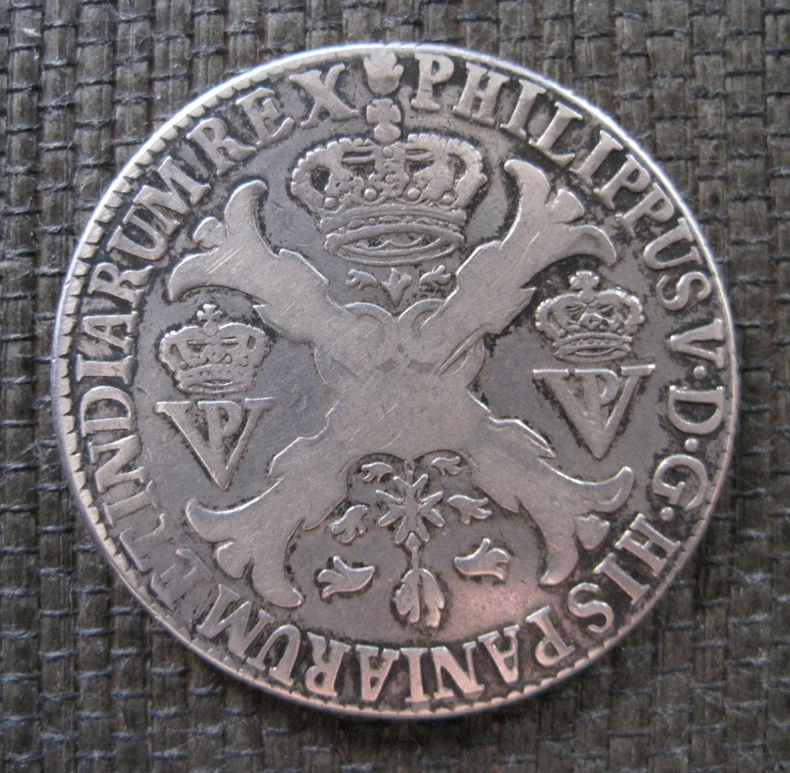 1705 Patagon a nombre de Felipe V, de Amberes. 34hjes3