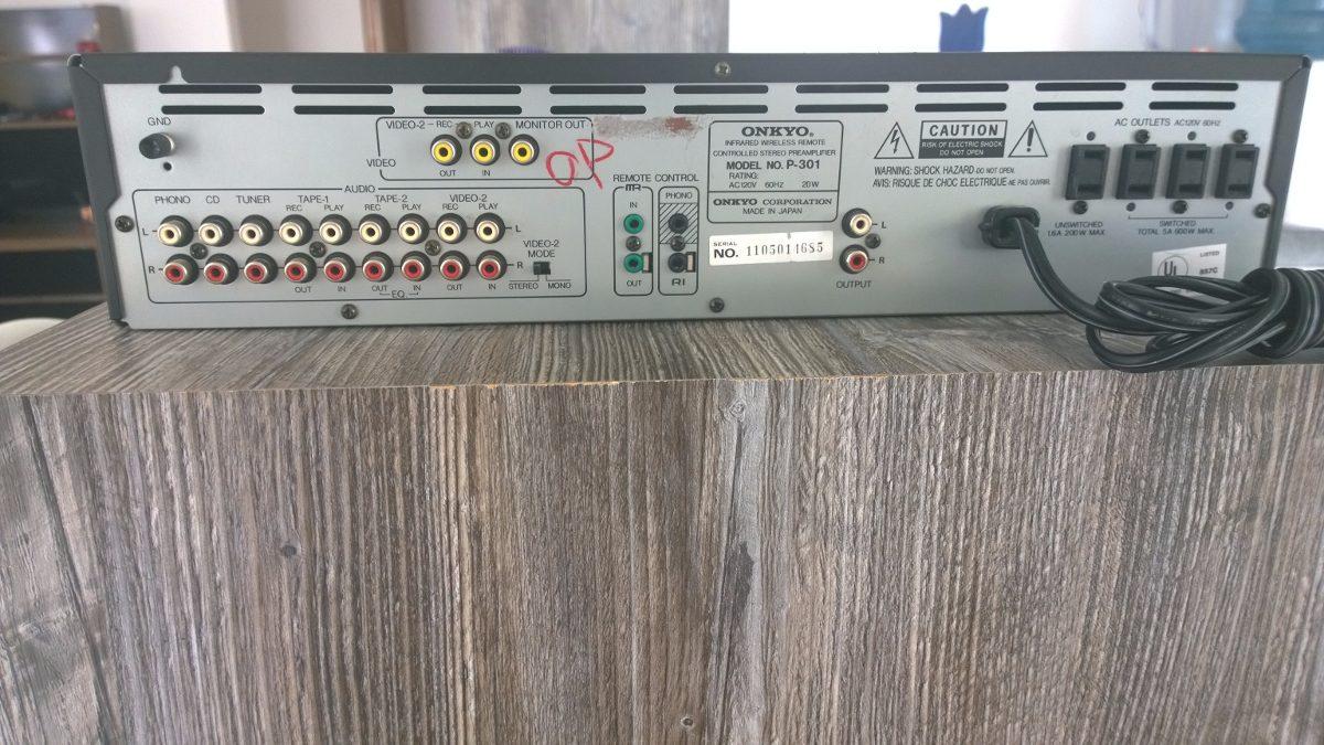 Onde ligar um pré amplificador? 34q9v89