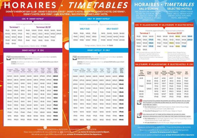 Opciones de traslado a Disneyland Paris 4kut5c