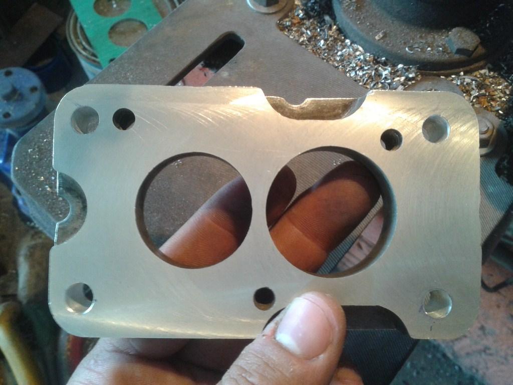 TUTORIAL de Instalação do Carburador 3E no Coletor do H34 com flange! 4uw3va