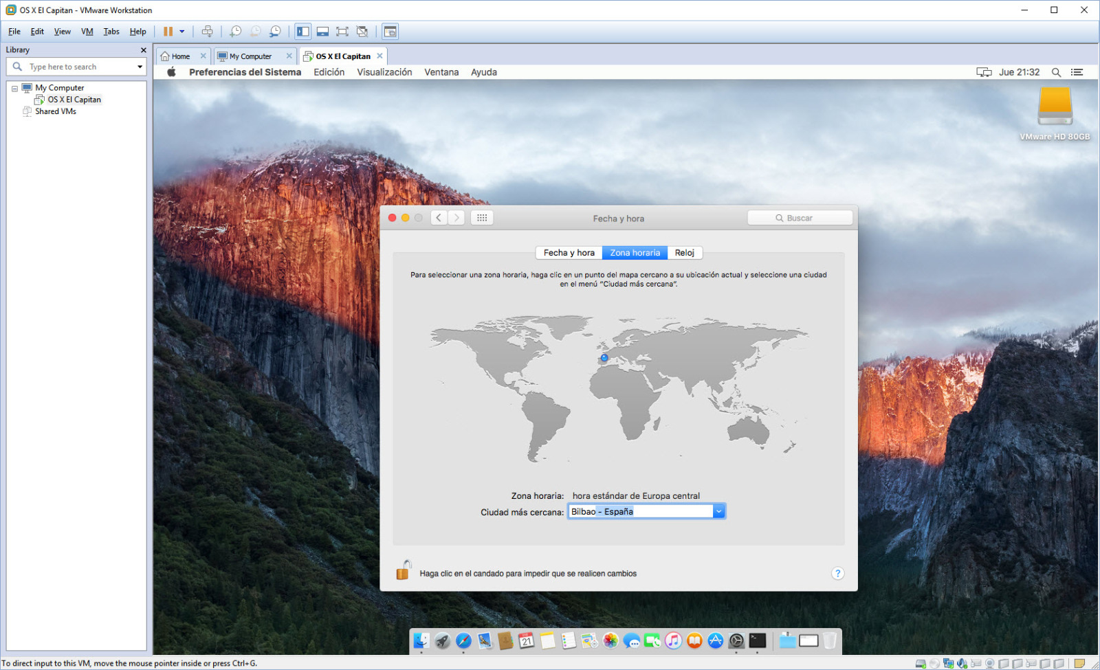 [TUTORIAL] VMWARE: INSTALANDO OS X EL CAPITÁN EN OS X Y WINDOWS... A LA BILBAÍNA 5althd
