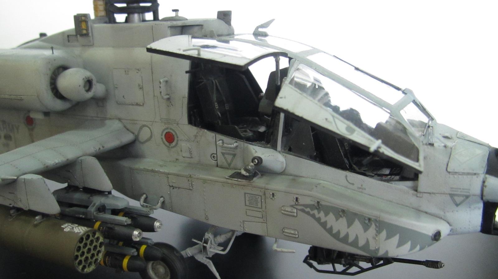 """AH-64A Apache """"Gray Camo 2003"""" 5n3lab"""