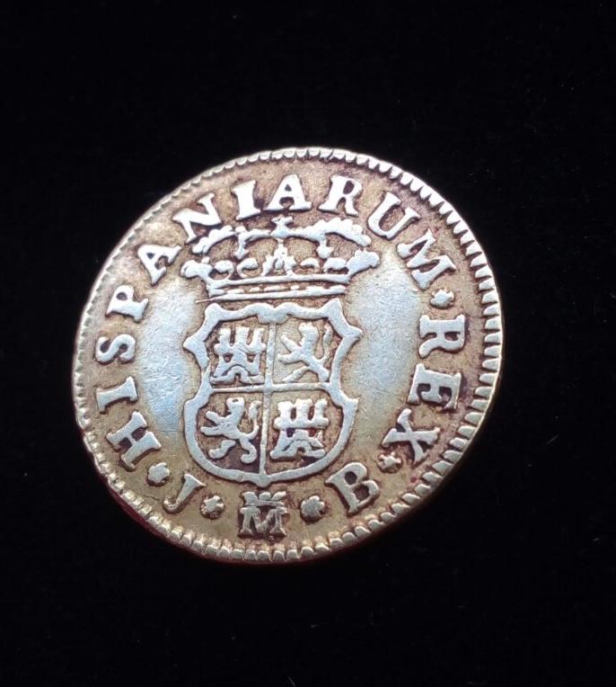 1/2 Escudo Fernando VI 1754 Madrid 5vyolw