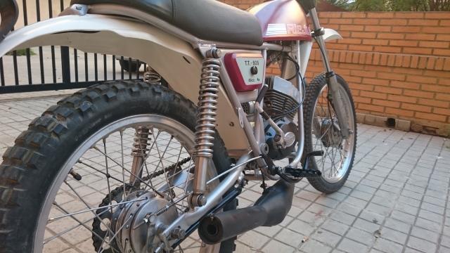 Proceso de restauración de Rieju TT 505 69e6gw