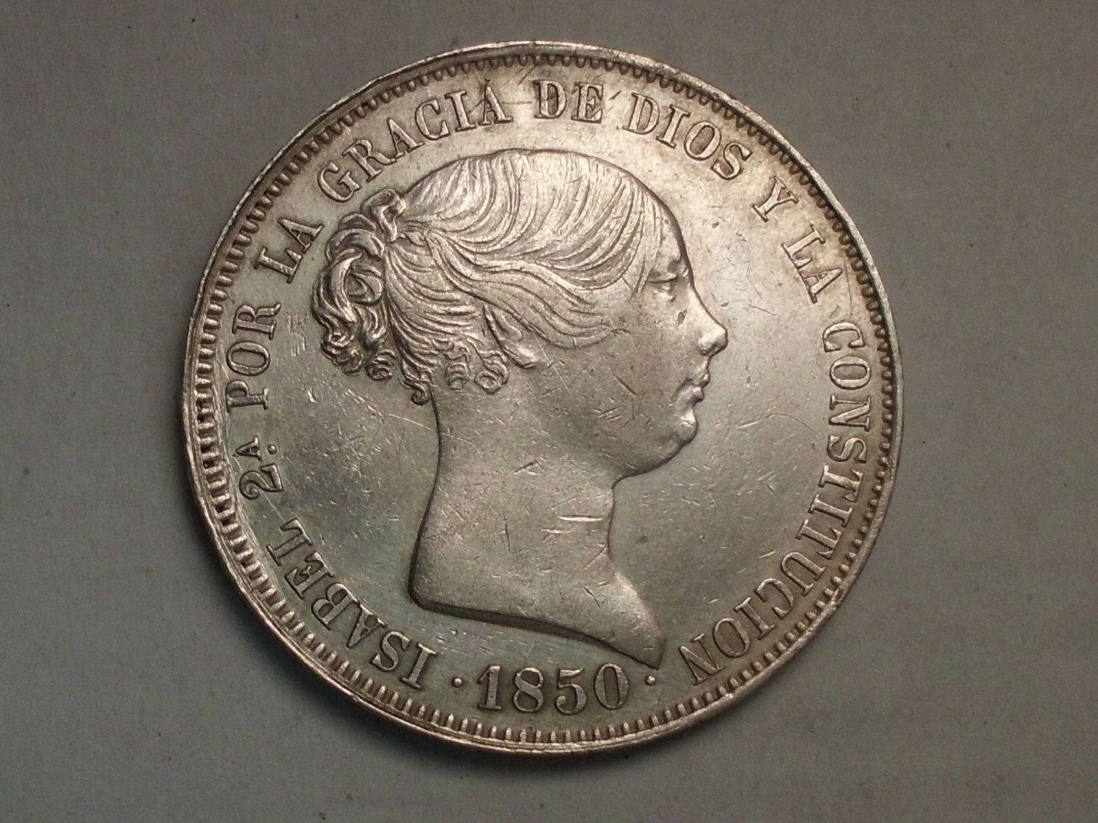 20 reales 1850 isabel II madrid 6nyw6a