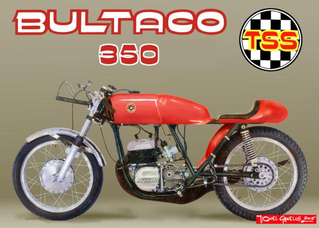 Replica Bultaco TSS 350 - 1967 90n691