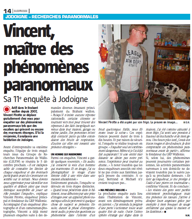 Interview avec la capitale.be Brabant Wallon le 25 novembre 2015 96gw1j