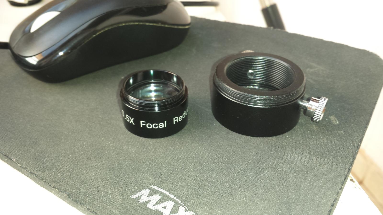 Não consigo foco com o Redutor focal  9iby2o