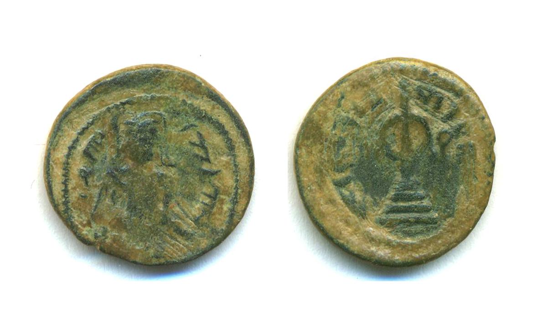 4 Felus arabe-bizantino Aclkp