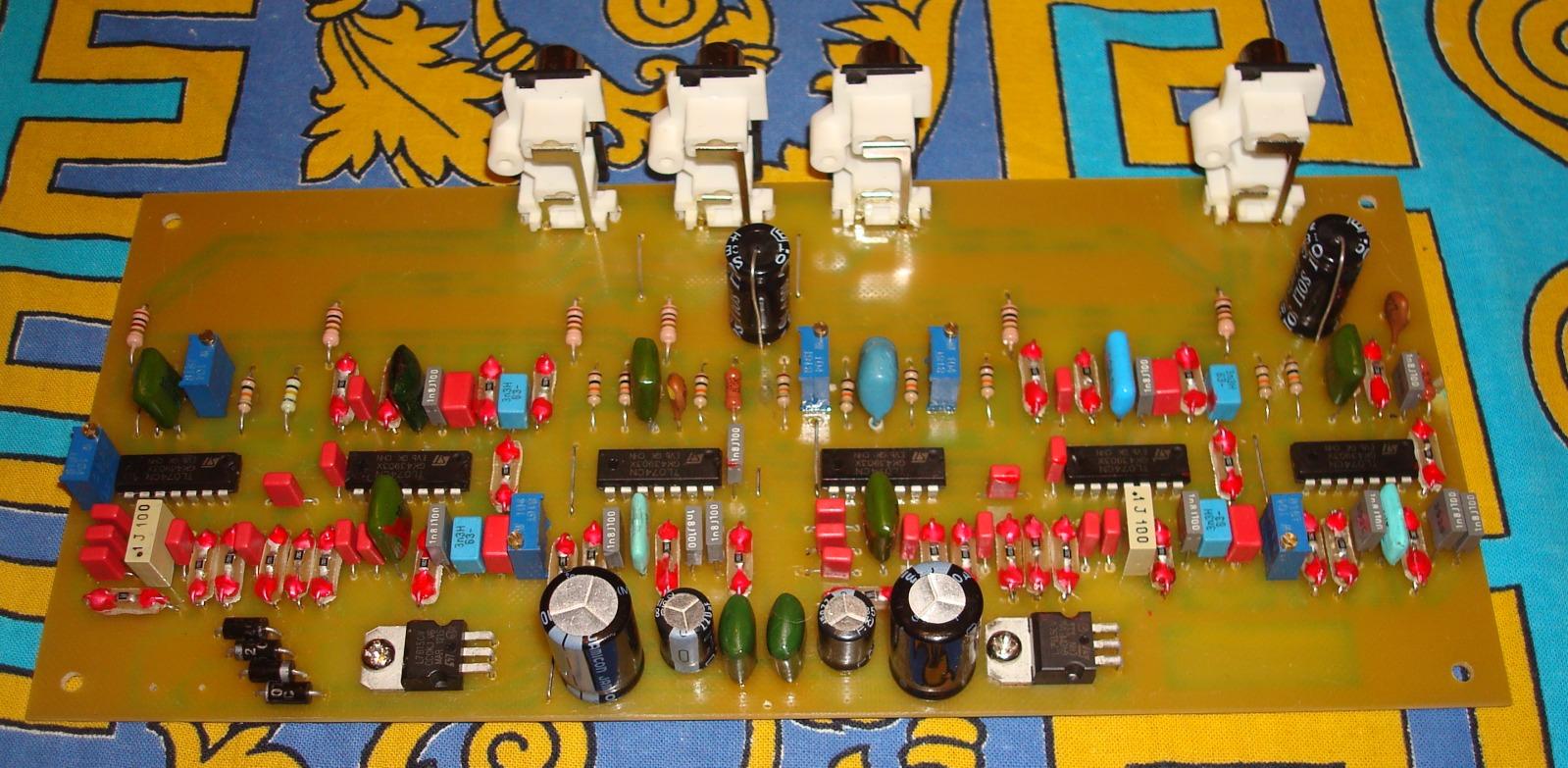 Трёхполосный усилитель на TDA7294 (TDA7293) с активным кроссовером Al2nic