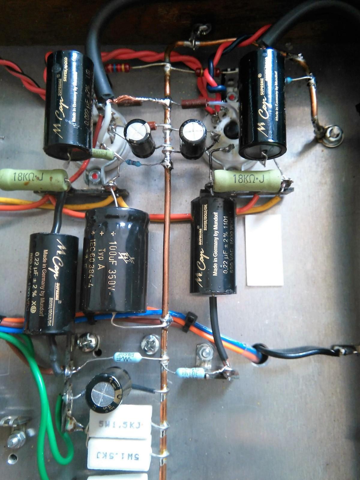 Cambio- elección de condensador señal audyn y duda con electrolitico al añadir polipropileno Aywsiq