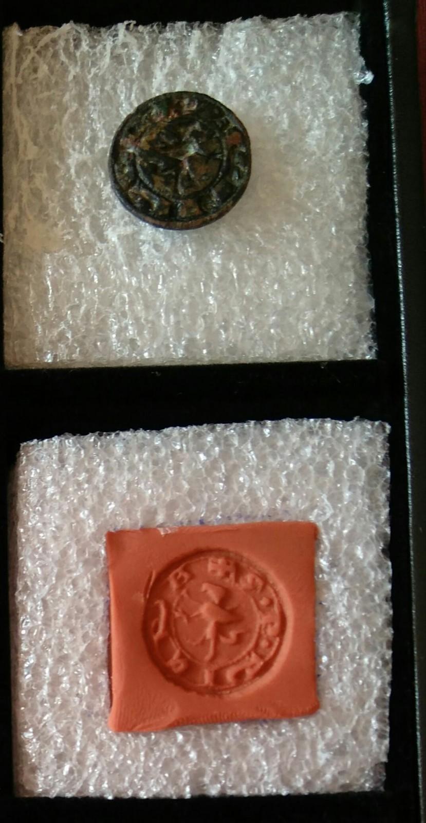 Matriz de sello , ayuda a descifrar  B81k45