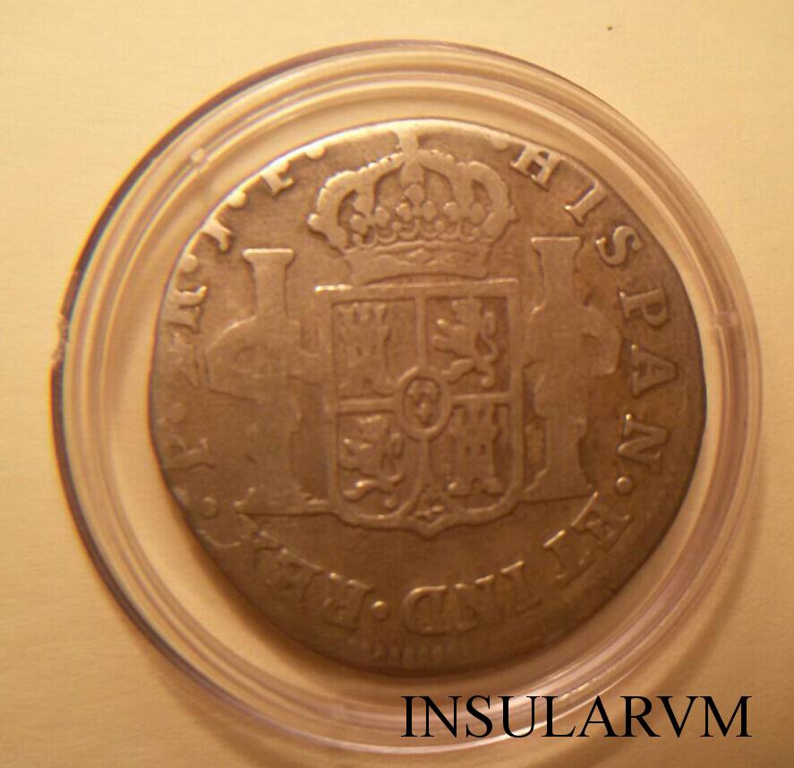 2 Reales 1813. Fernando VII. Popayán. J.F. BC E9zxnn