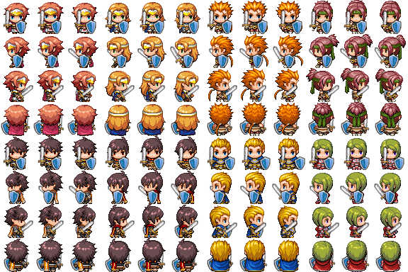 [MV] Characters con espada y escudo F0q7n4