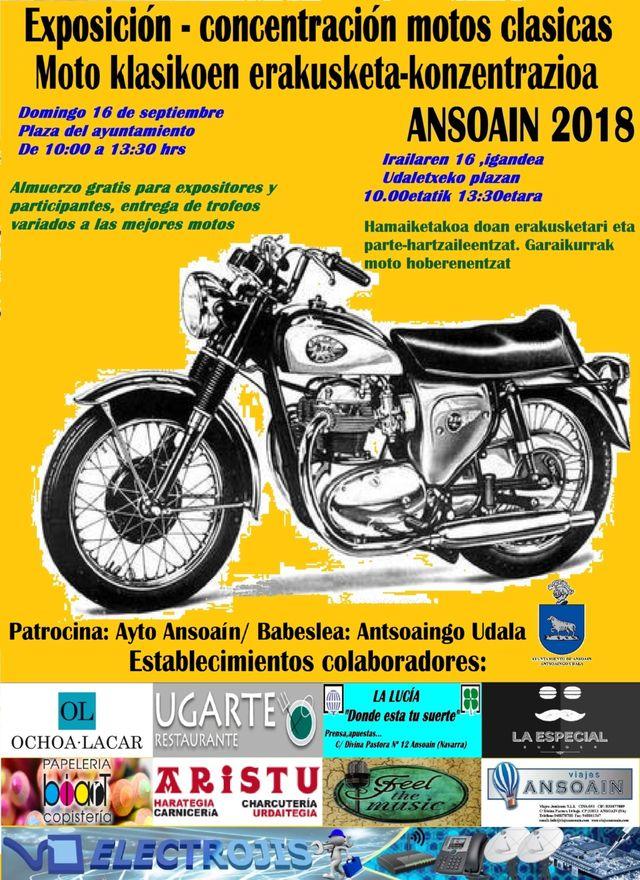 Exposición-concentracion motos clasicas Ansoain 2018 F3qf5