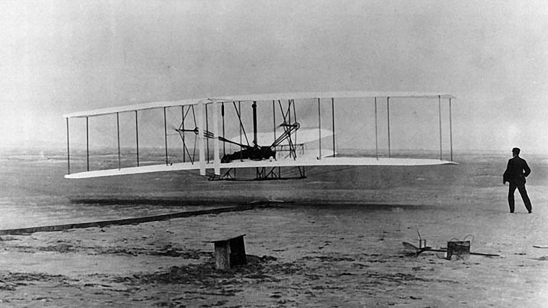 Planeador Wright el antecesor de la aviación Iba14l