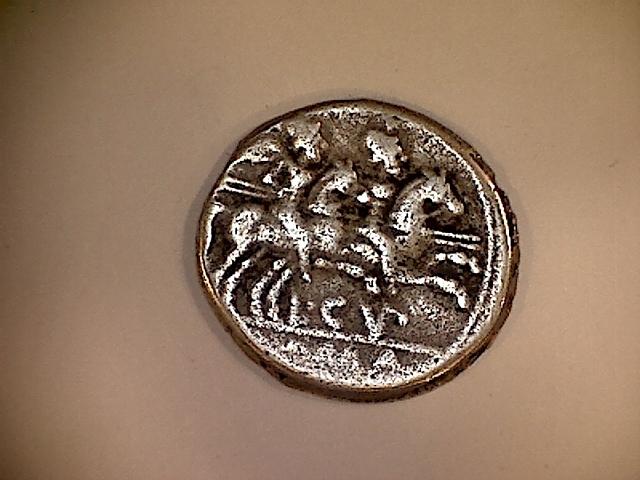 Reprodución Denario Republicano Gens Cupiennia Ild5cm