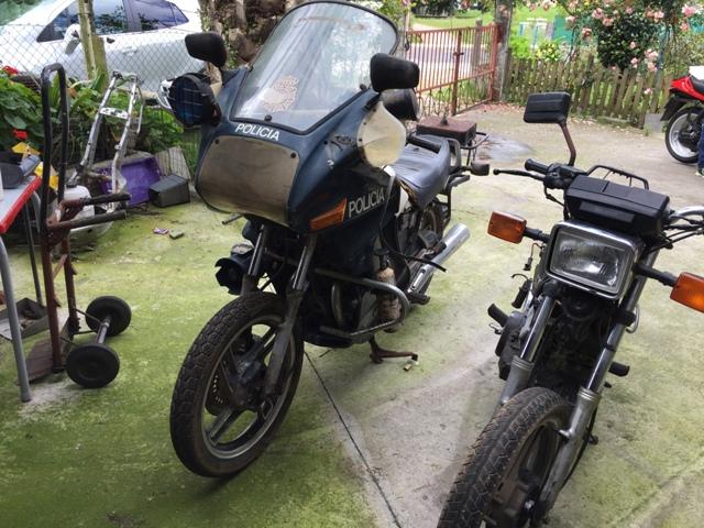 Yamaha XS 400 POLICIA Iwm644