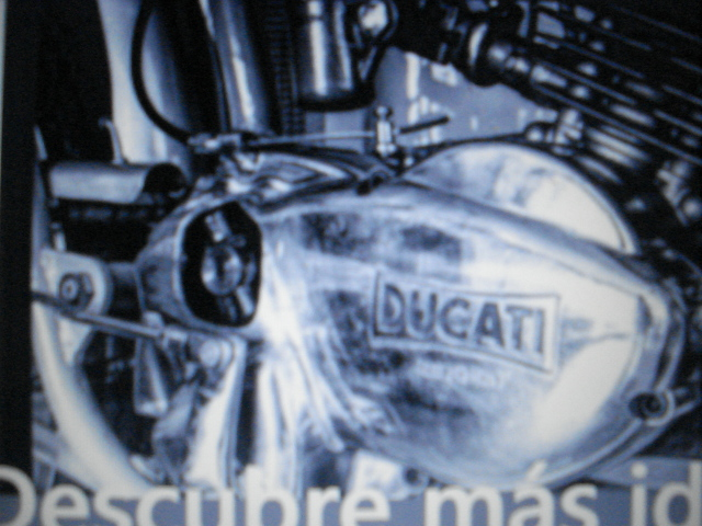Ducati 50 cc con 6 velocidades Iz723p