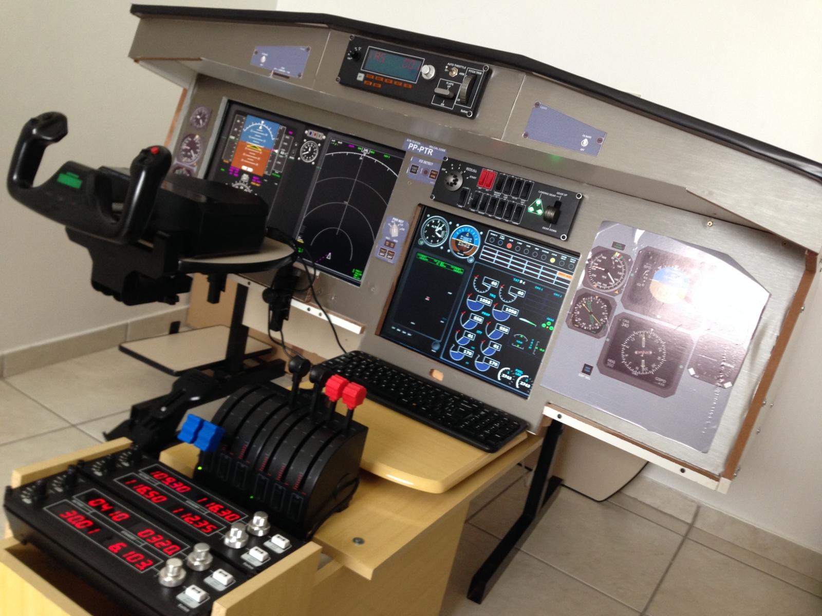 Simulador de Vôo ATR 72 J5kth0