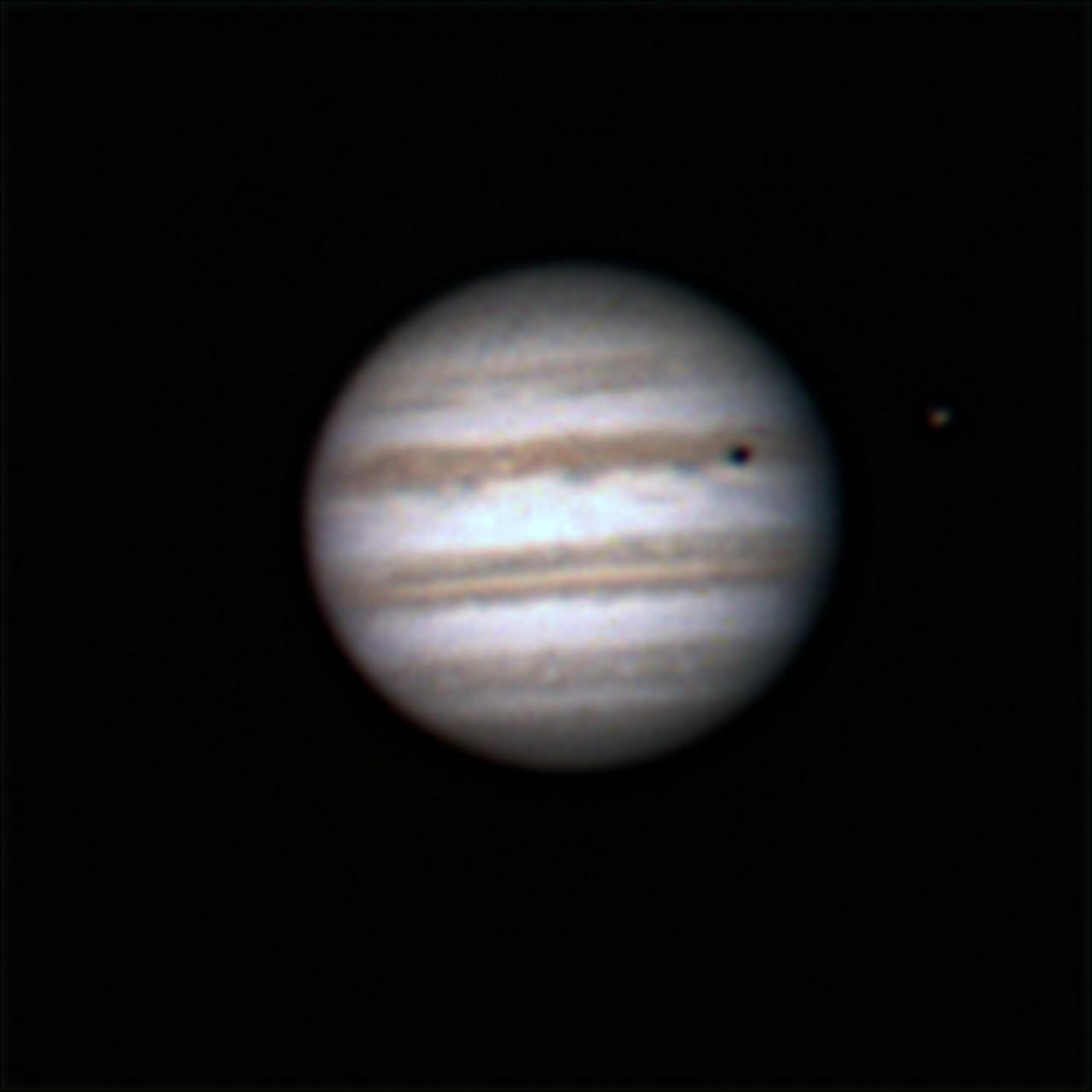 Trânsito das Luas de Júpiter. Jkf28n
