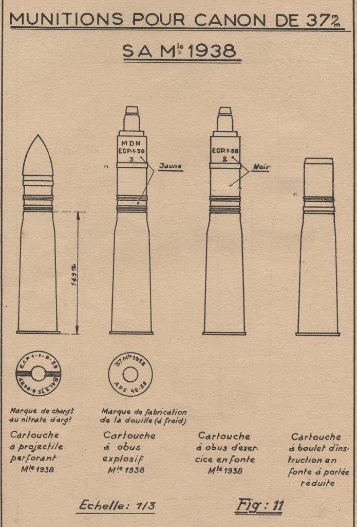 Cartouche de 37 Mle 1938 ... mais pour quel canon ? M97hj8