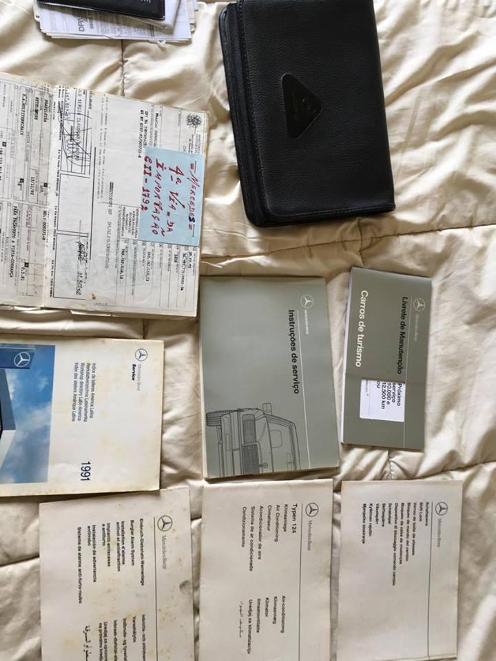 (VENDO): W124 300E 24V 1992 - R$16.000,00 N16mht