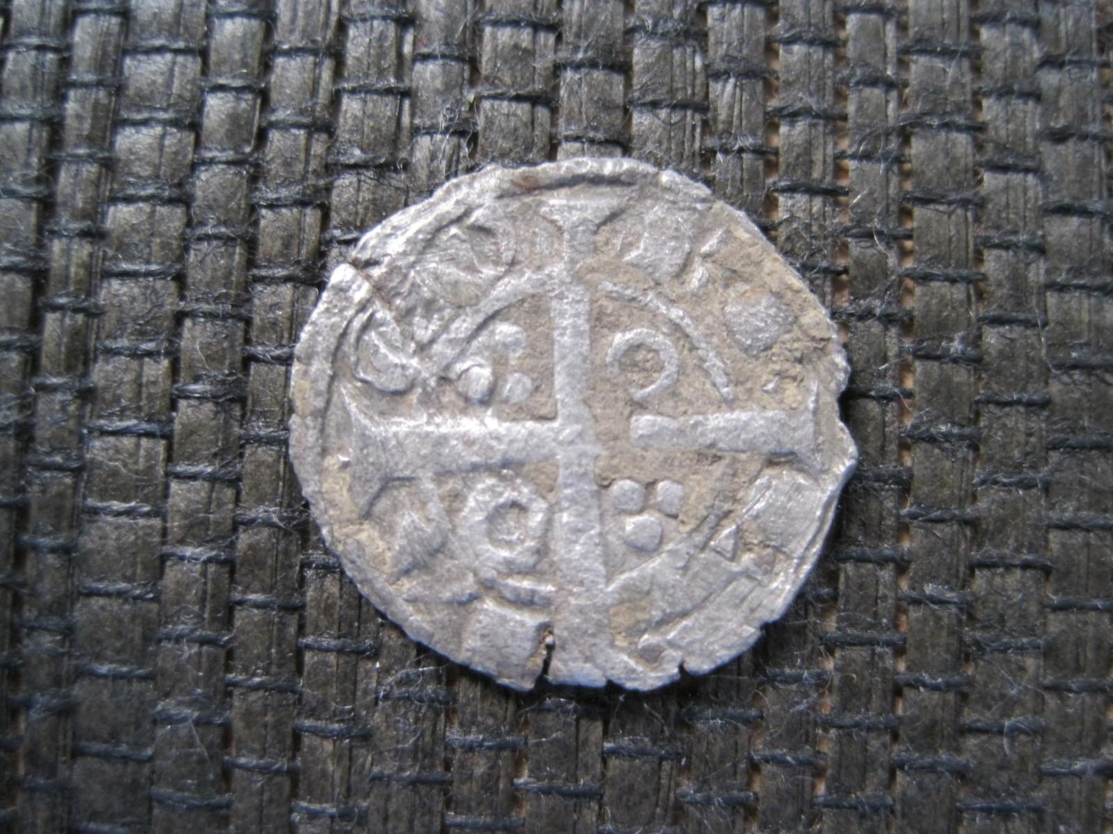Dinero de Tern de Jaime I de Aragón 1213-1276 Barcelona. Nl4ff4